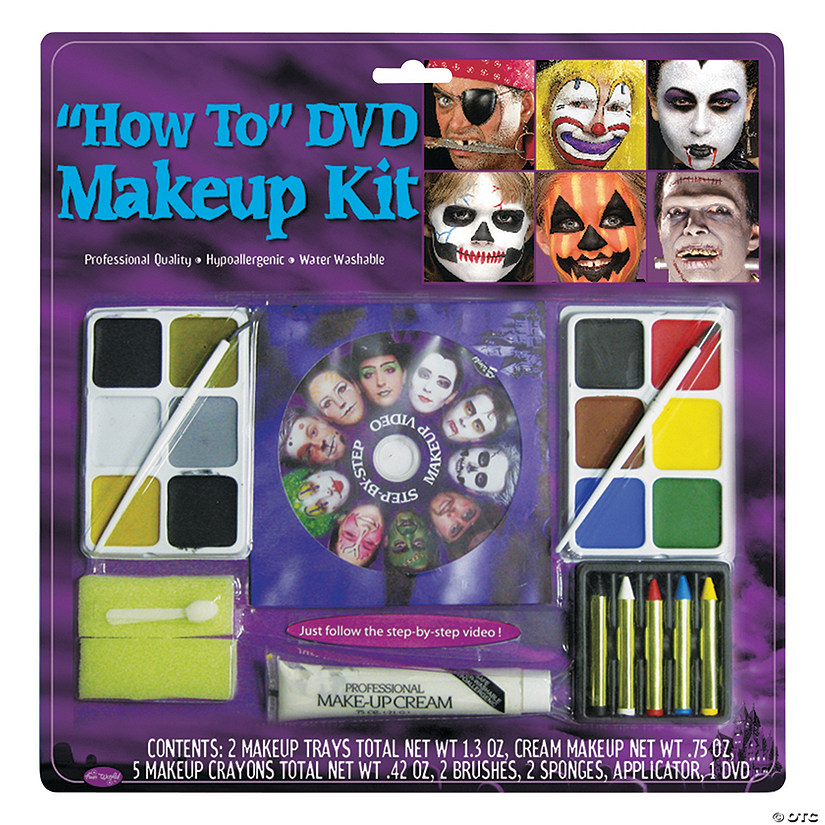 How To DVD Makeup Kit