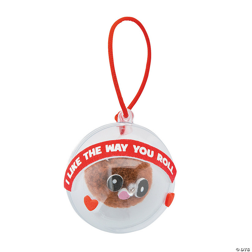 I Like the Way You Roll Hamster Ornament Craft Kit