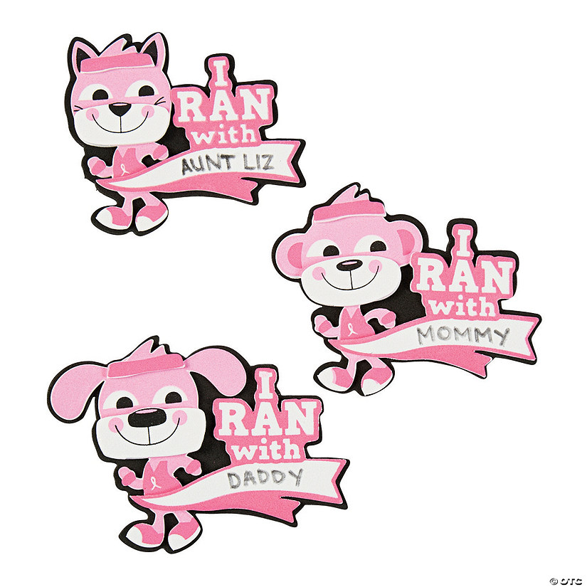 """I Ran With"" Pin Craft Kit"