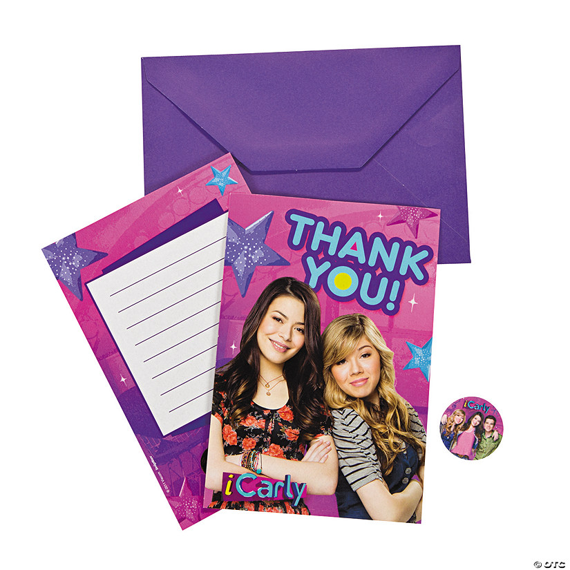 ICarly Thank You Cards