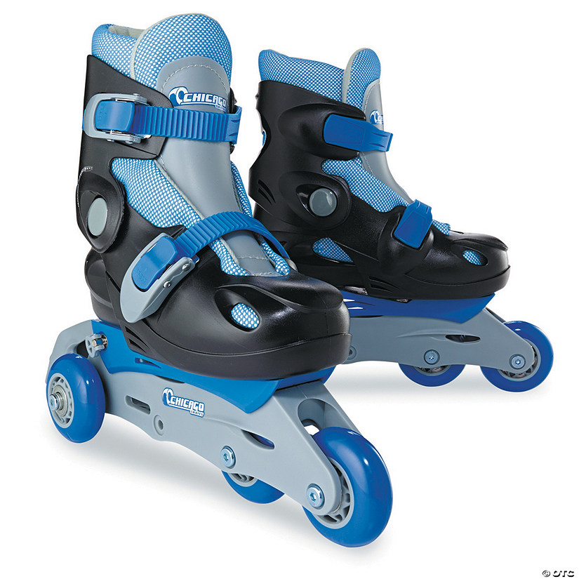 In-Line Skating Trainer Sets: Blue Size Medium