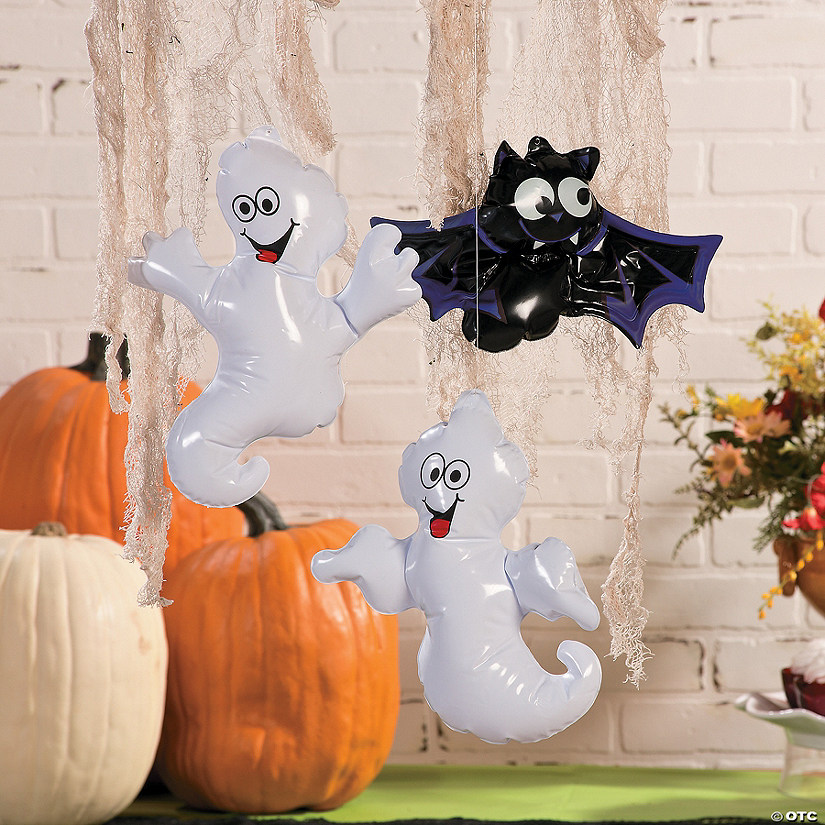 Inflatable Ghosts & Bats