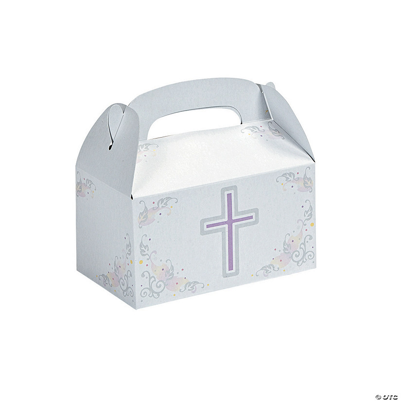 Inspirational Cross Favor Boxes