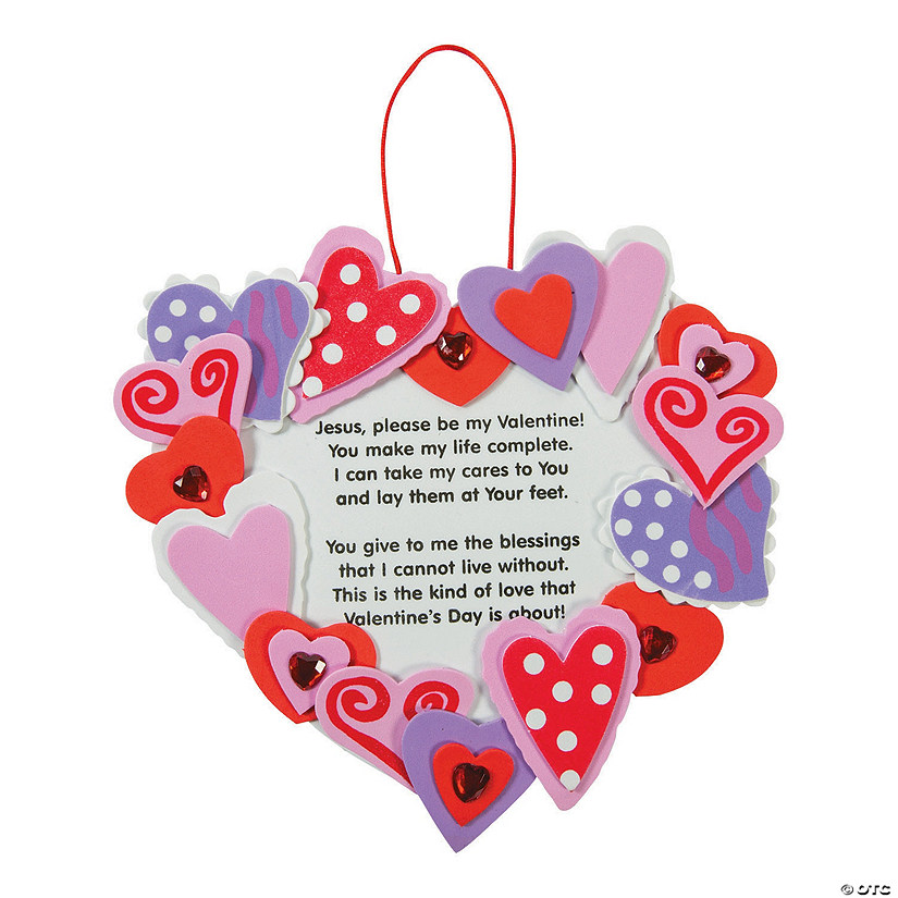 Inspirational Valentine Wreath Craft Kit