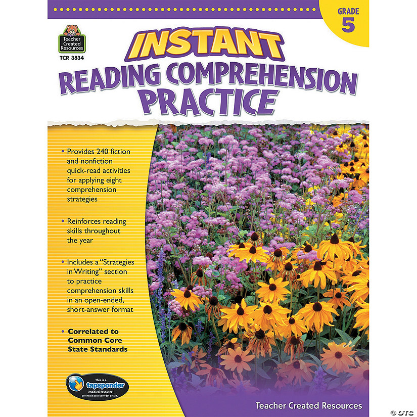 Instant Reading Comprehension Practice: Grade 5