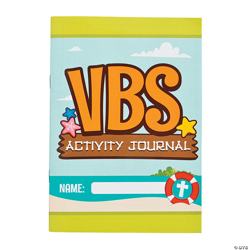 Island VBS Activity Journals