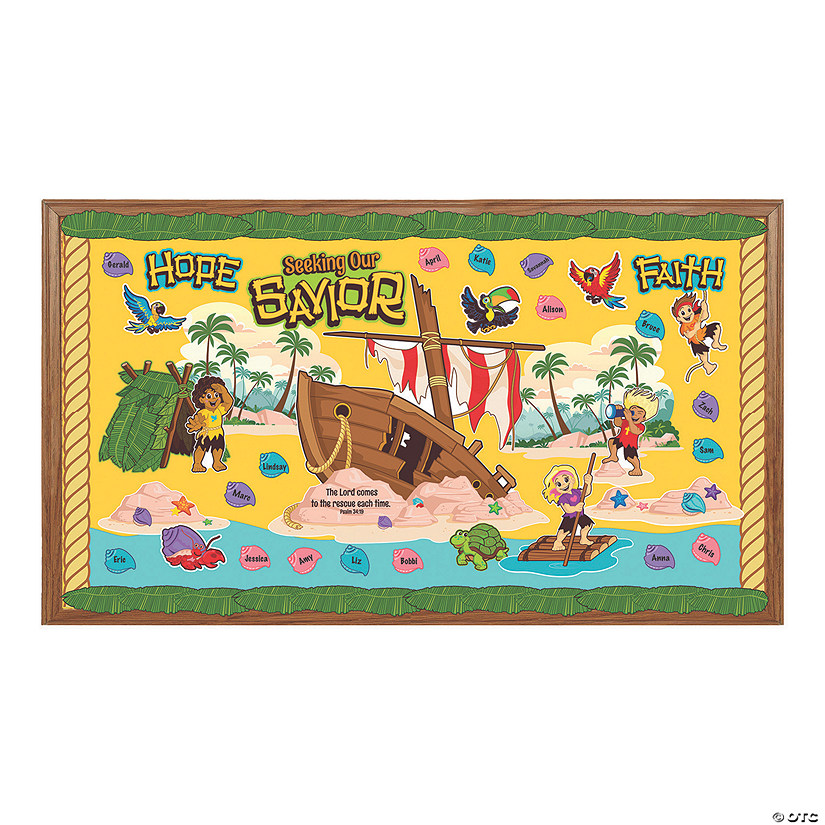 Island VBS Bulletin Board Set
