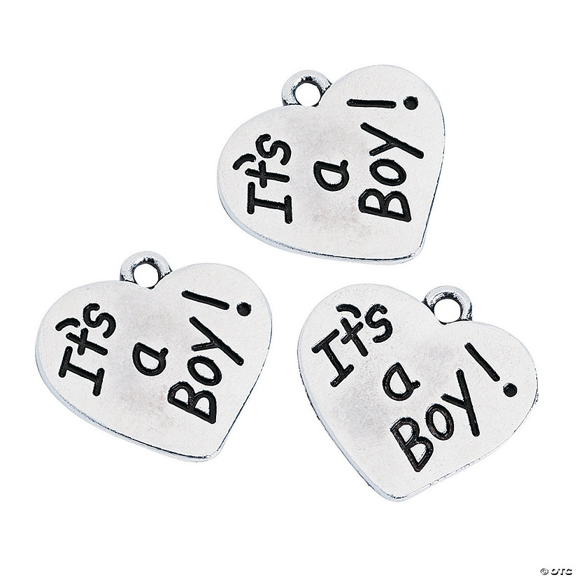 It's a Boy Charms