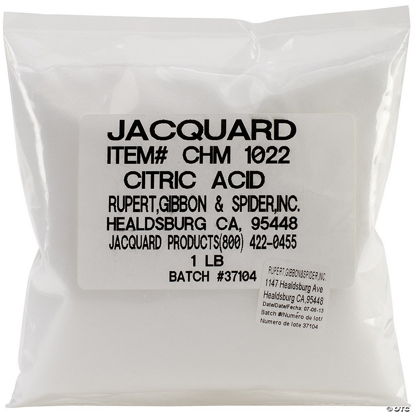 Jacquard Citric Acid 1Lb
