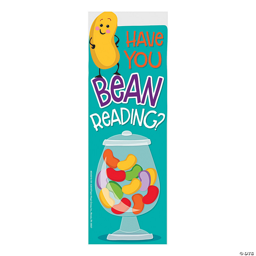 Jelly Bean-Scented Bookmarks