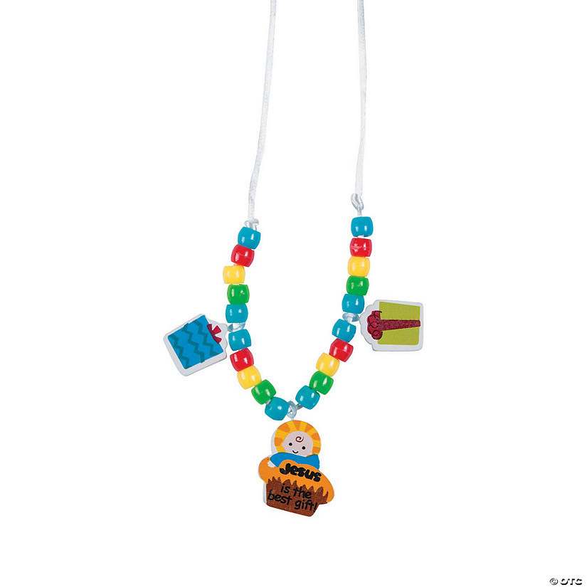 Jesus is the Best Gift of All Necklace Craft Kit