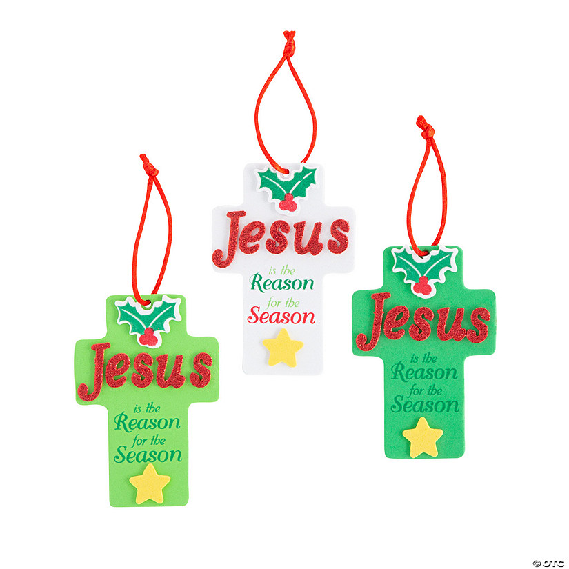 Jesus Is the Reason Ornament Craft Kit