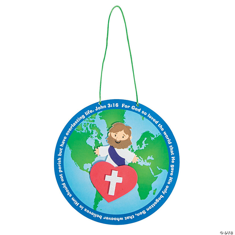 John 3:16 Globe Craft Kit