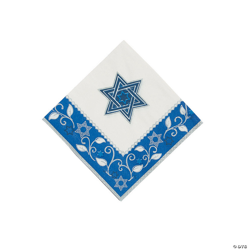 Joyous Holiday Passover Beverage Napkins
