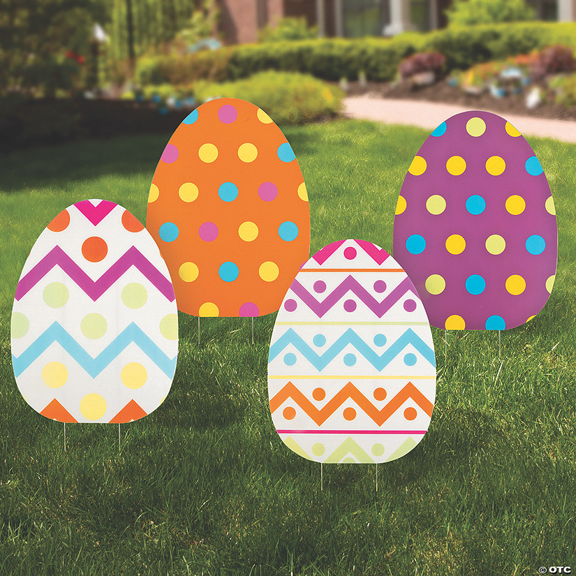 Jumbo Egg Yard Signs