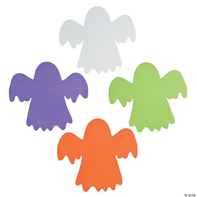 Jumbo Foam Ghost Shapes