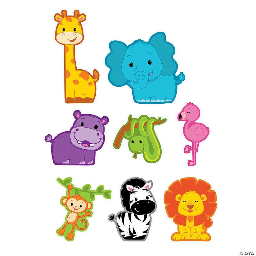 Jumbo Jungle Cutouts