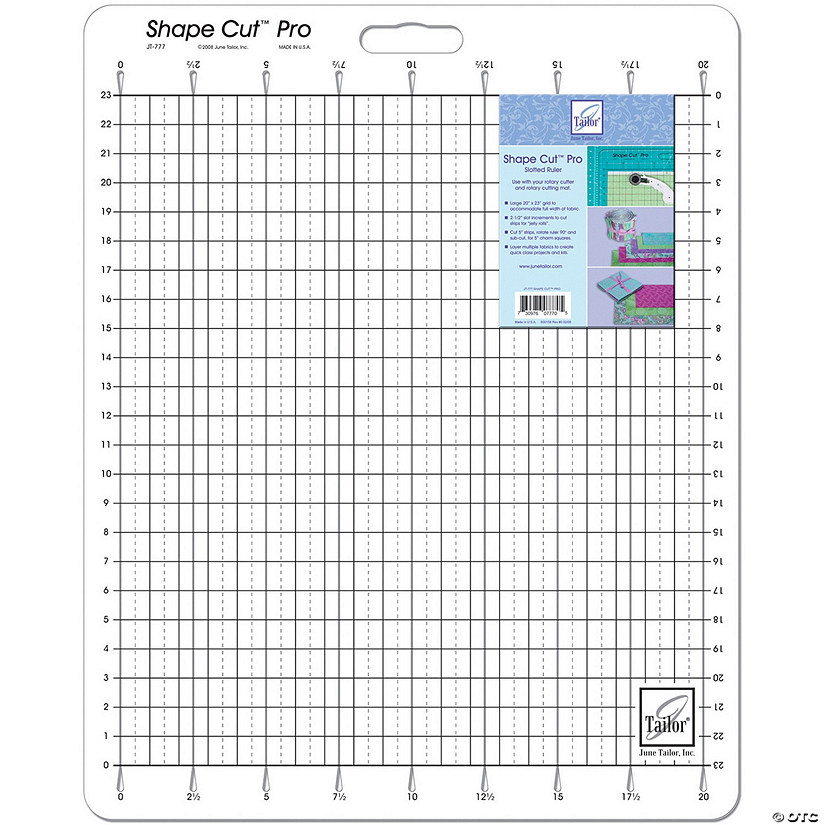 "June Tailor Shape Cut Pro Ruler-20""X23"""