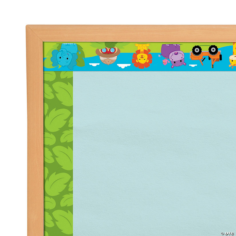 Jungle Bulletin Board Borders