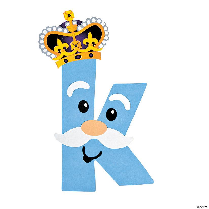 k is for king lowercase letter k craft kit discontinued. Black Bedroom Furniture Sets. Home Design Ideas