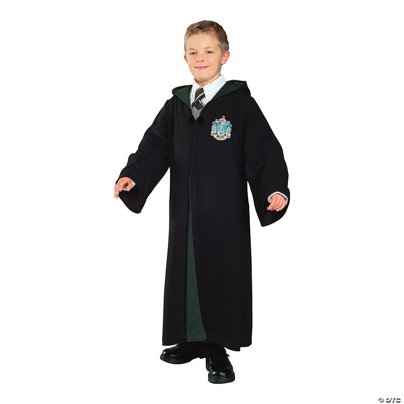Kid's Deluxe Harry Potter™ Slytherin Robe Costume
