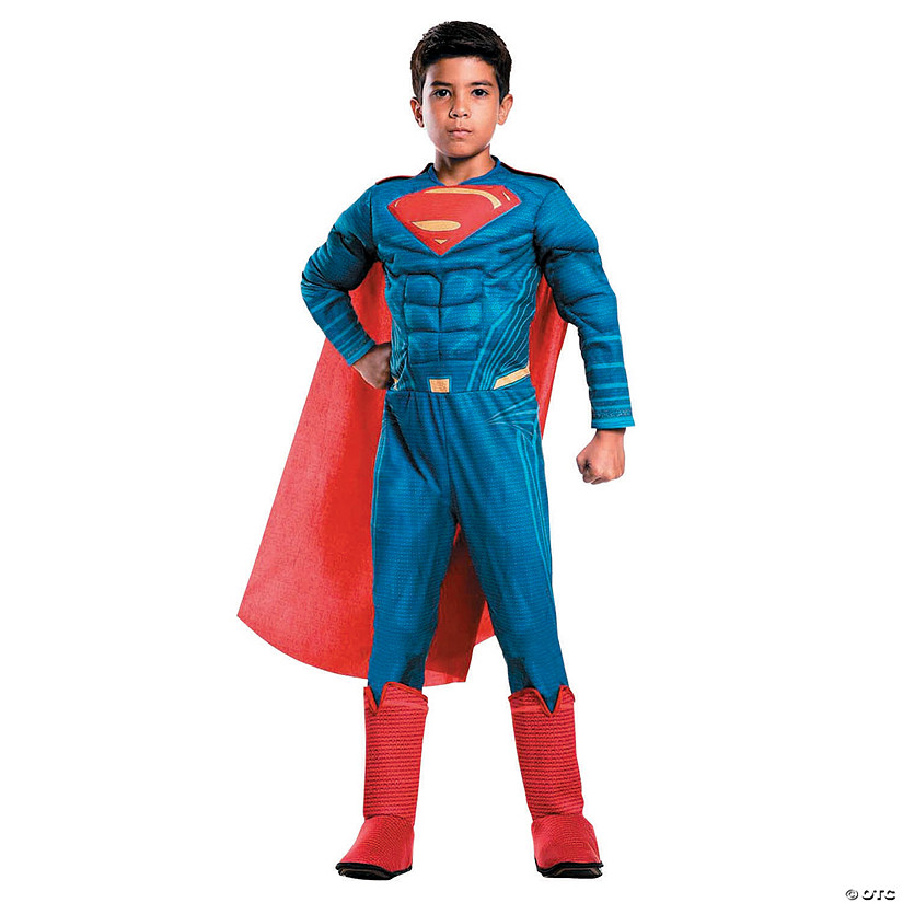 Kid's Deluxe Superman Costume