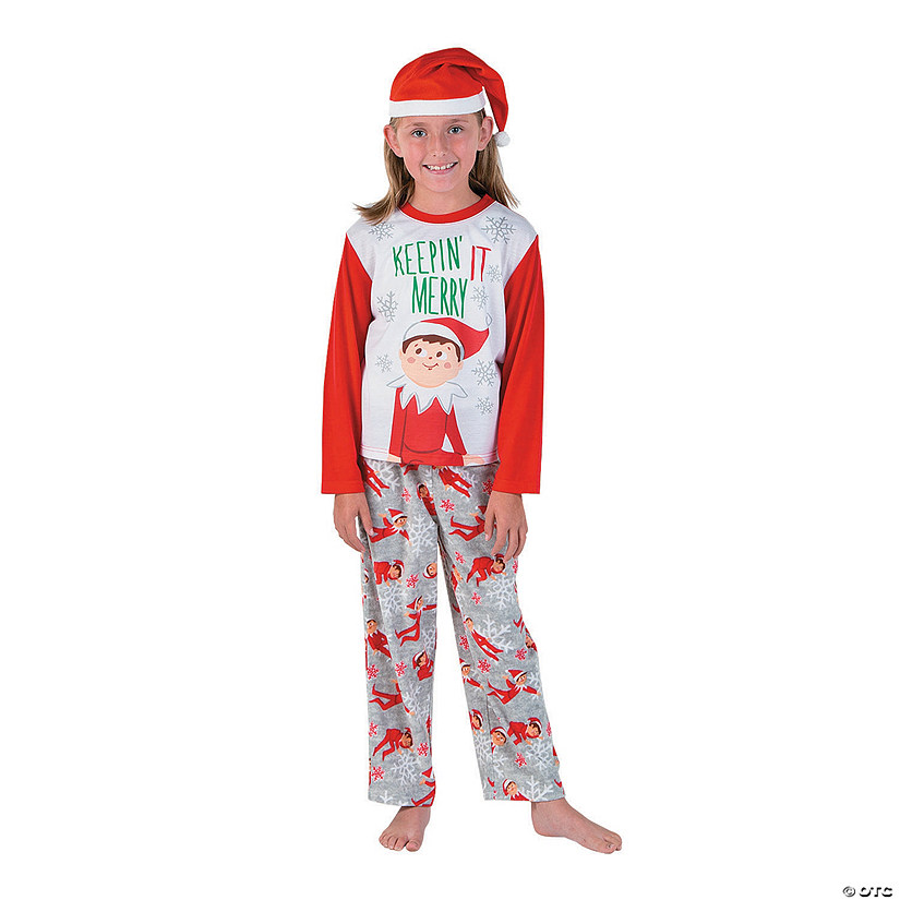 Kid's Elf on the Shelf<sup>®</sup> Pajamas