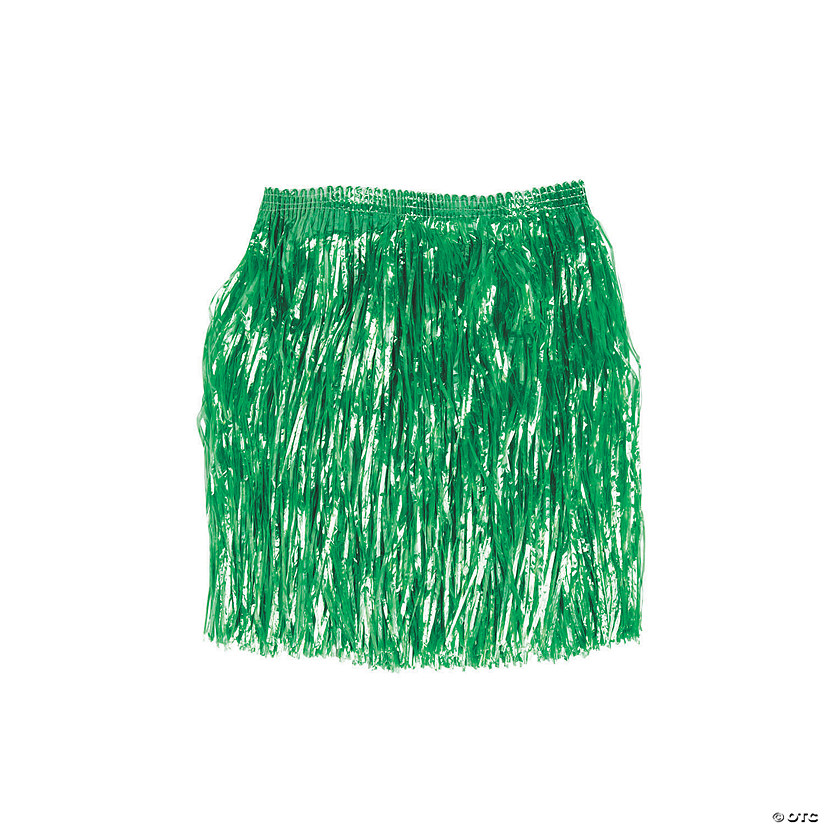 Kids' Artificial Green Grass Hula Skirt