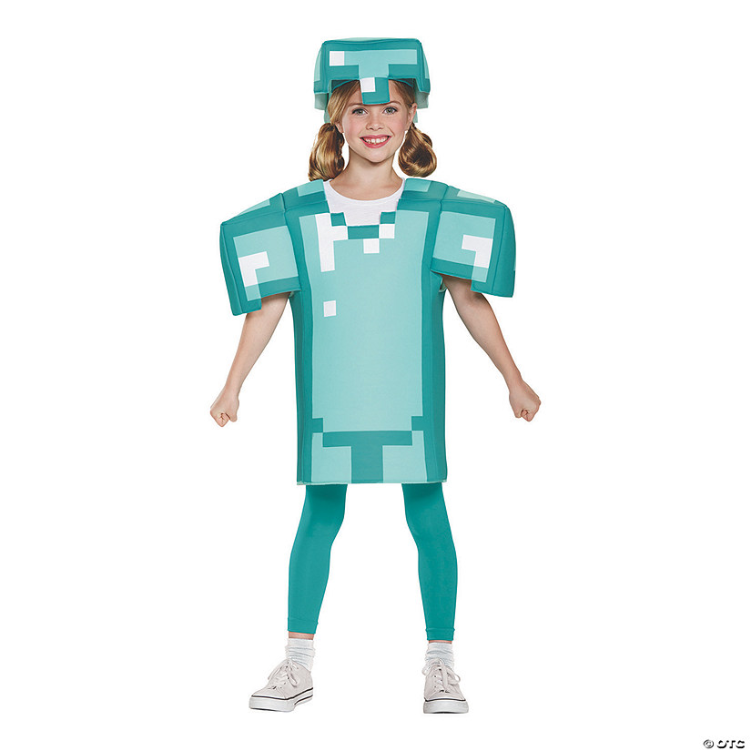 Kid's Classic Minecraft Armor Costume