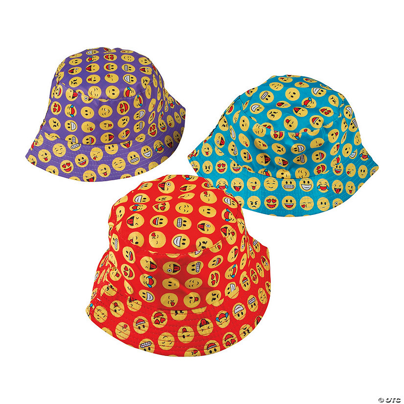 Kids' Emoji Bucket Hats