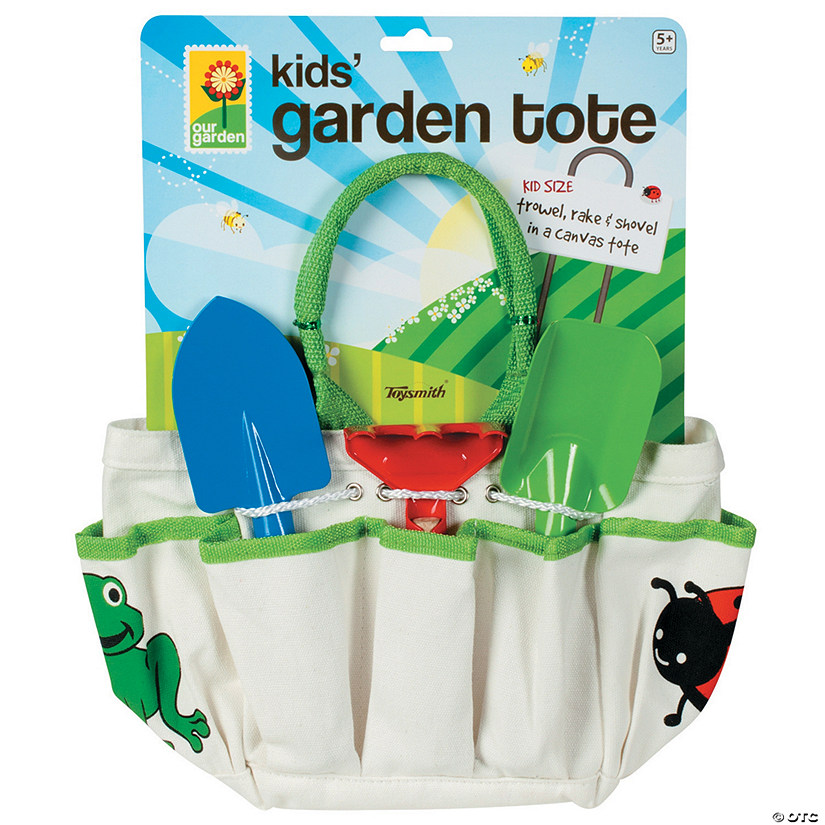 Kids' Garden Tote and Tool Set