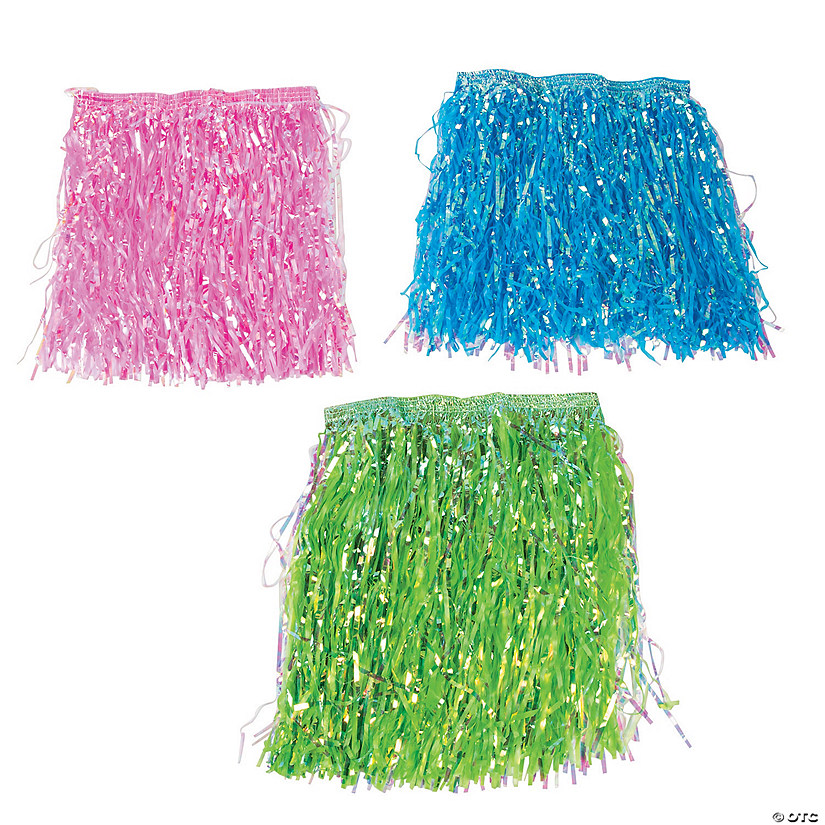 Kids' Iridescent Hula Skirts