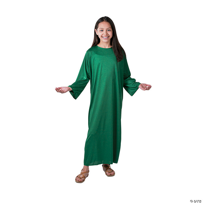Kids' Large Green Nativity Gown