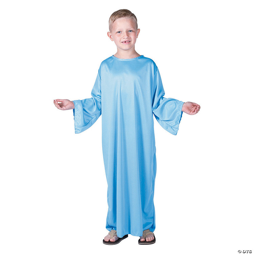 Kids' Light Blue Nativity Gown