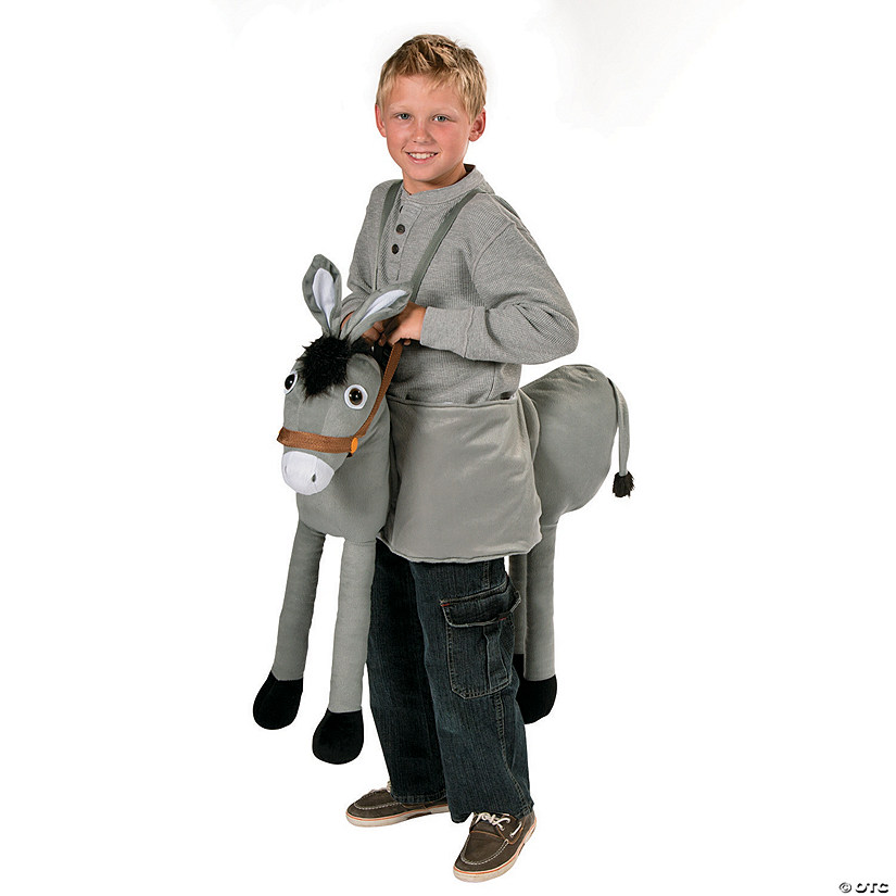 Kid's Plush Nativity Donkey Costume
