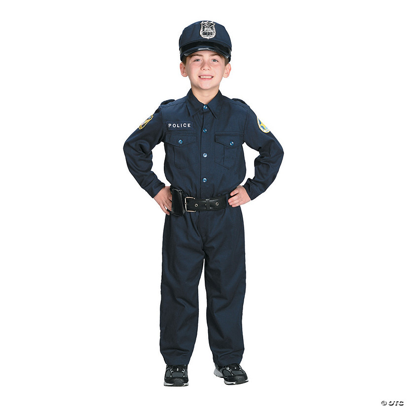 Kid's Police Officer Costume - Small