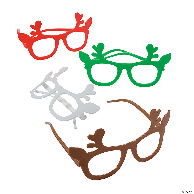 Kids' Reindeer Novelty Glasses