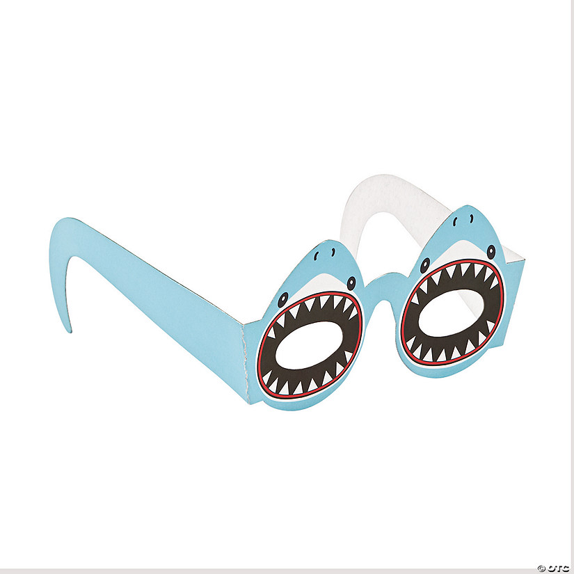 Kids' Shark Paper Glasses