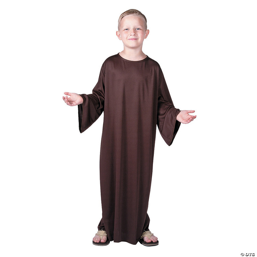 Kids' Small Brown Nativity Gown