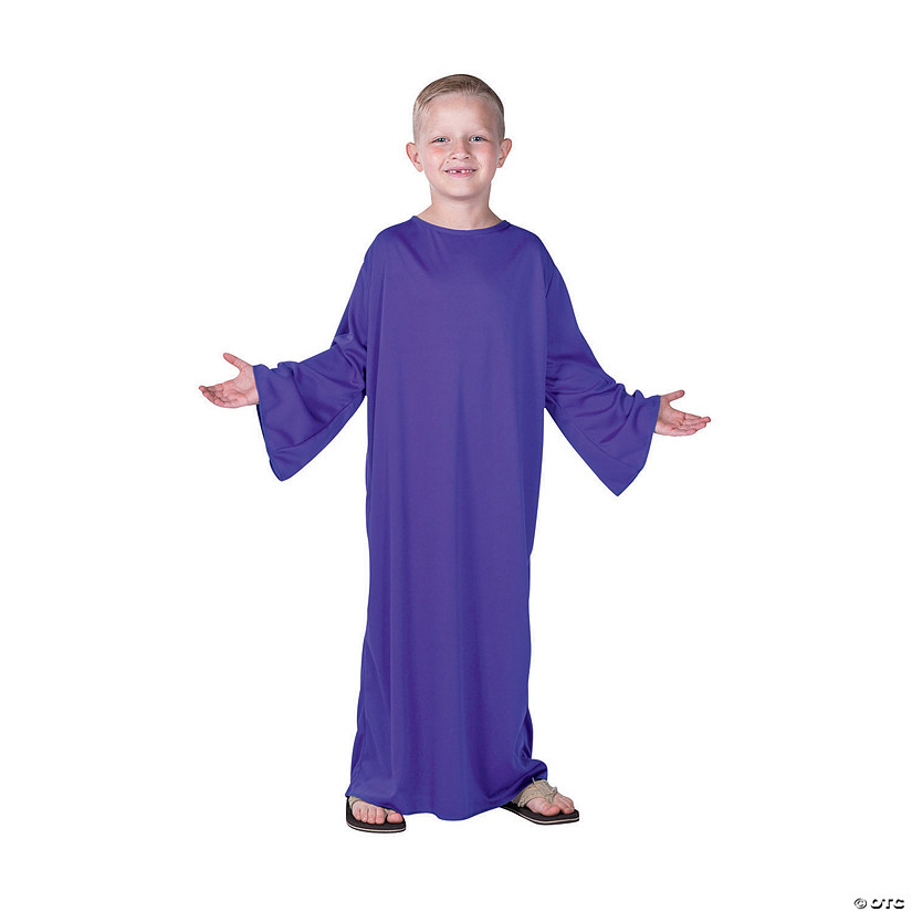 Kids' Small Purple Nativity Gown