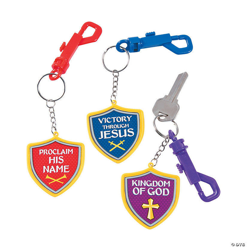 Kingdom VBS Backpack Clip Keychains