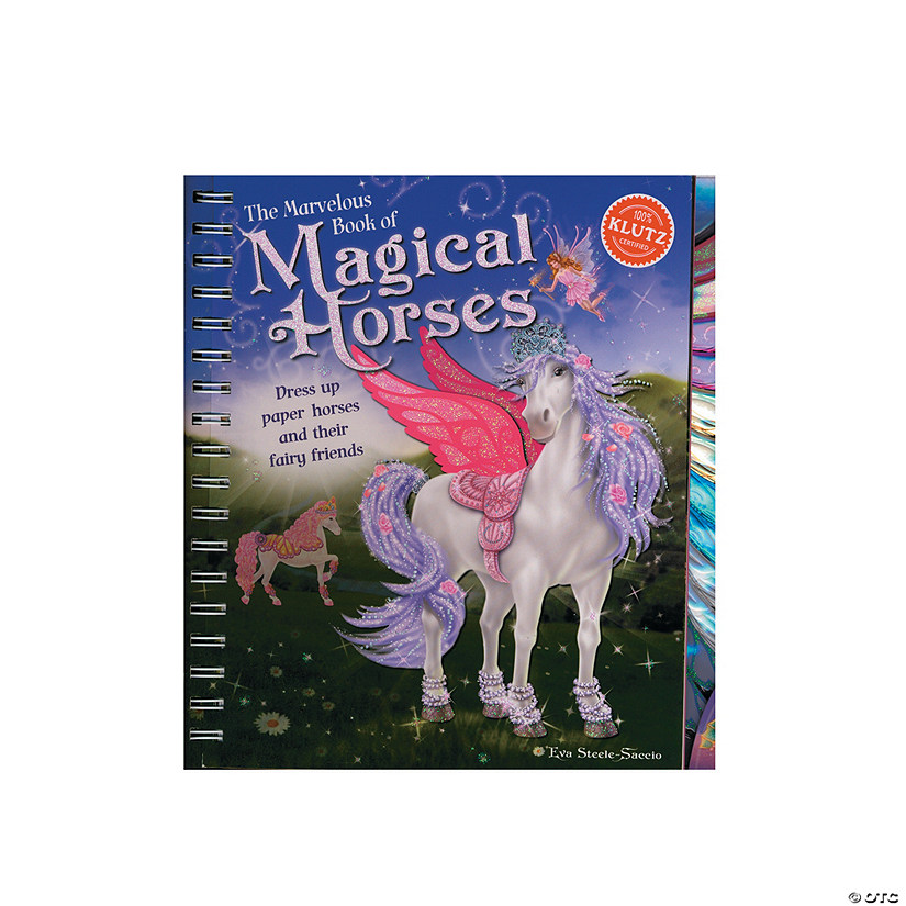 Klutz Marvelous Book Of Magical Horses