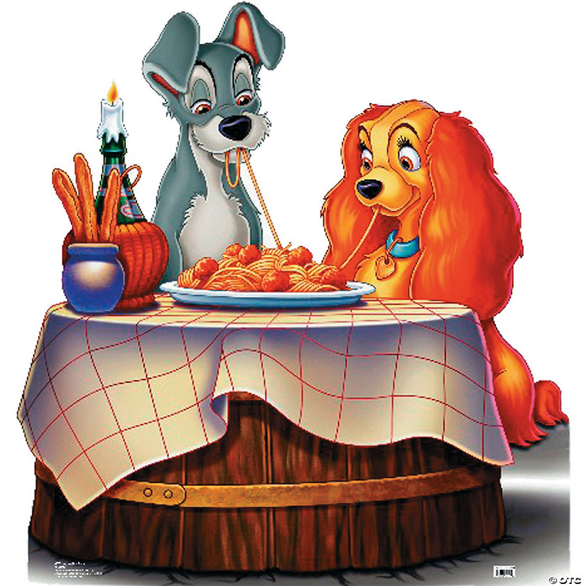 Lady And The Tramp Cardboard Stand-Up