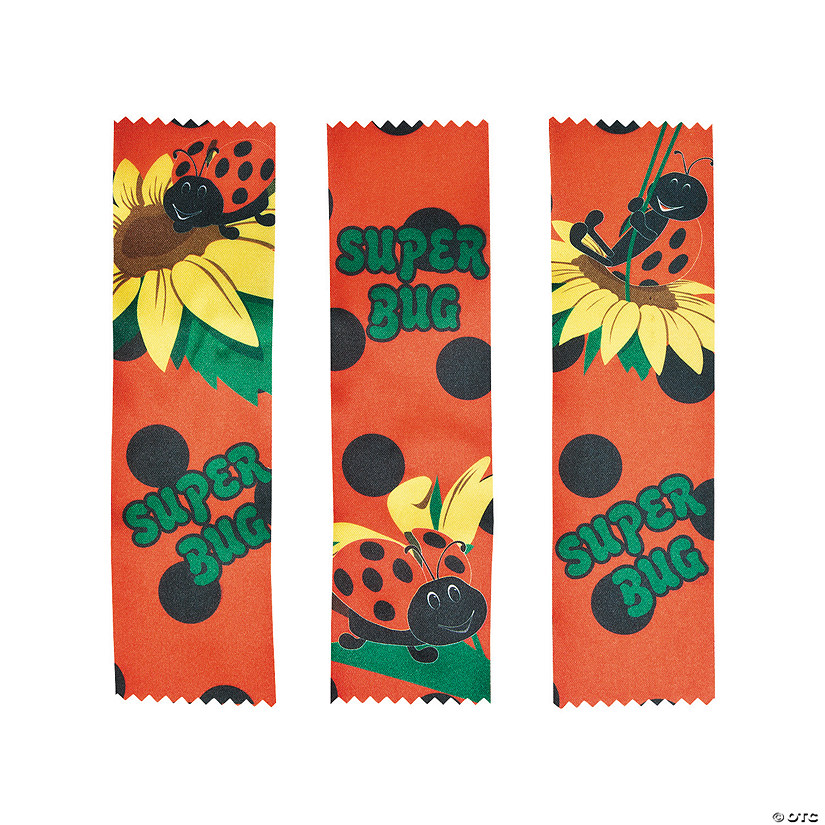 Ladybugs Party Participant Ribbons