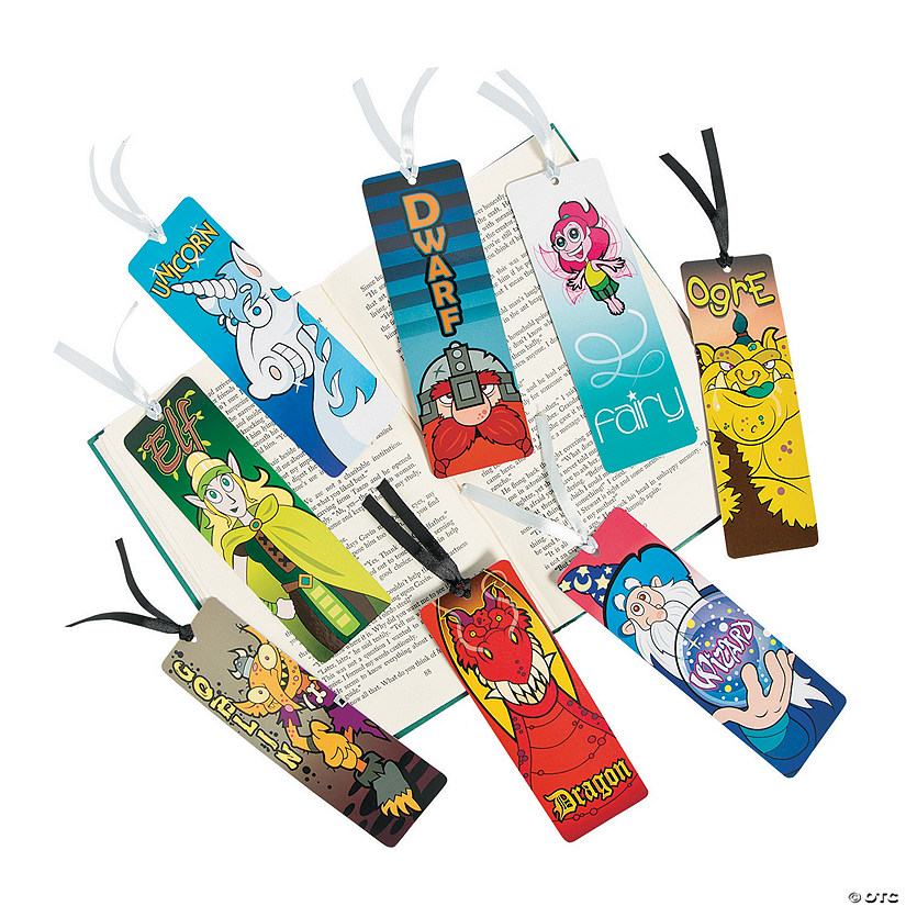 Laminated Fantastical Creatures Bookmarks