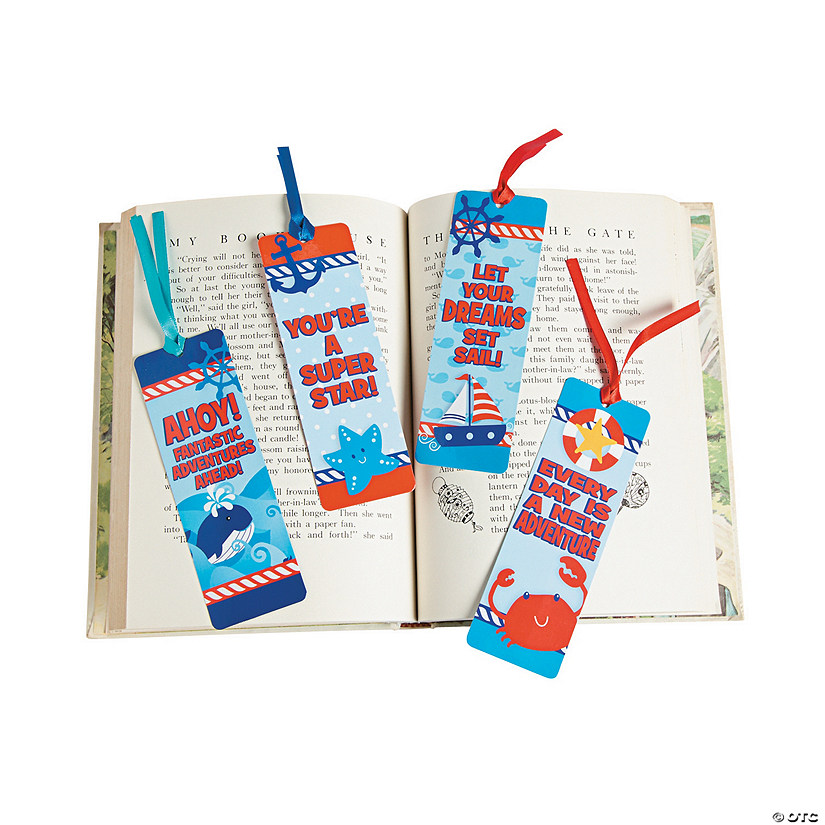 Laminated Nautical Bookmarks