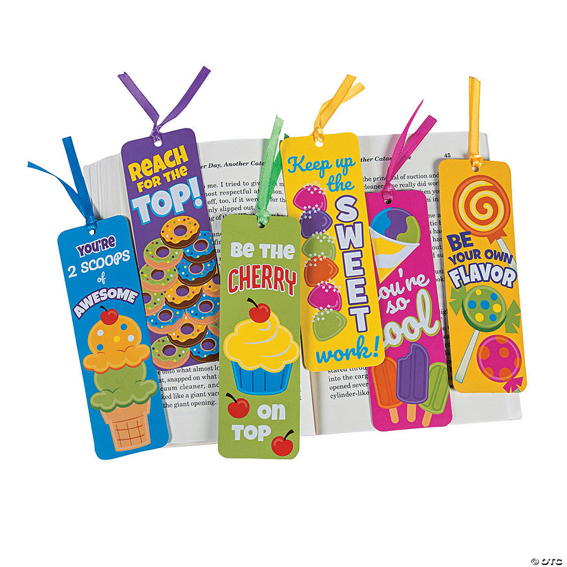 Laminated Sweet Treat Bookmarks