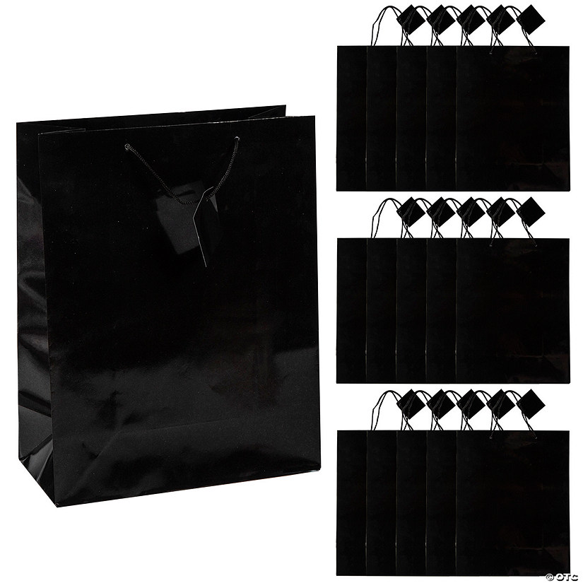 Large Black Gift Bags