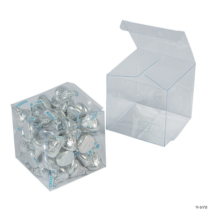 Large Clear Favor Boxes