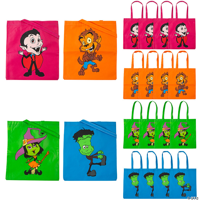 Large Cool Ghoulz Tote Bags